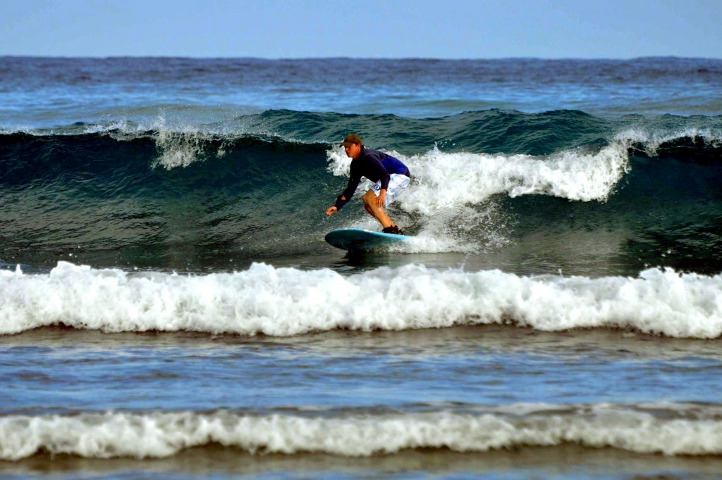 photo of our belize island surf break