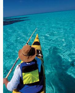 Belize sea kayak
