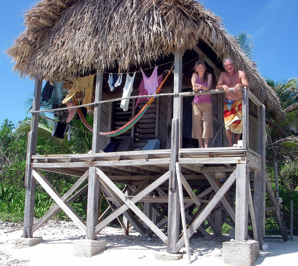 Carpentero Beach Huts Camping: Our Belize Beach Cabanas: Huts Next To The Water