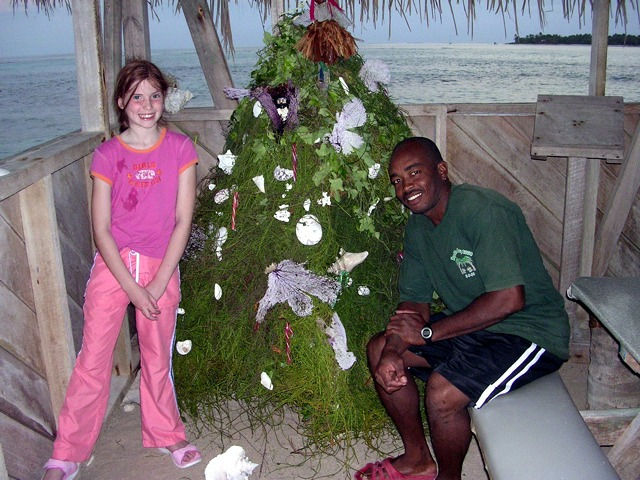 Celebrating Christmas at Glover's Reef