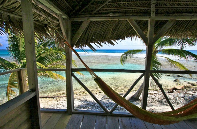 Each porch has a hammock waiting just for you