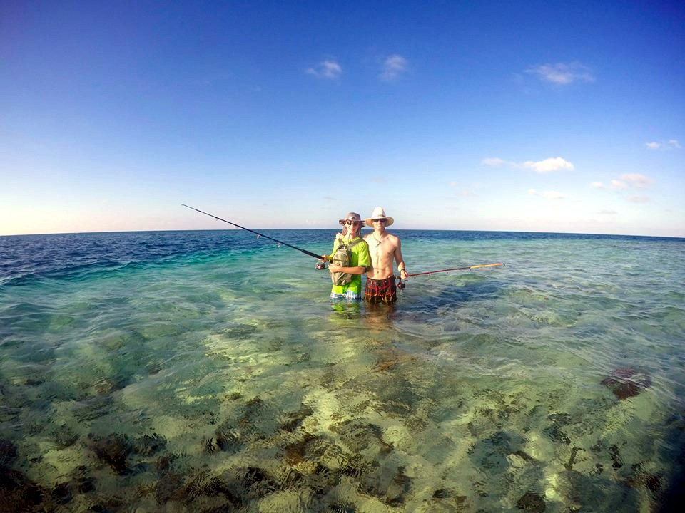 The fishing at Middle Caye is superb