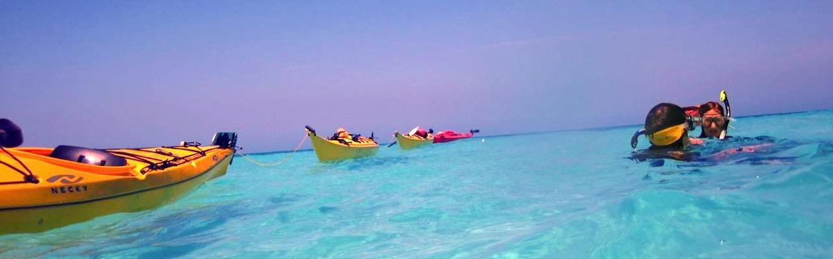 kayak snorkel belize