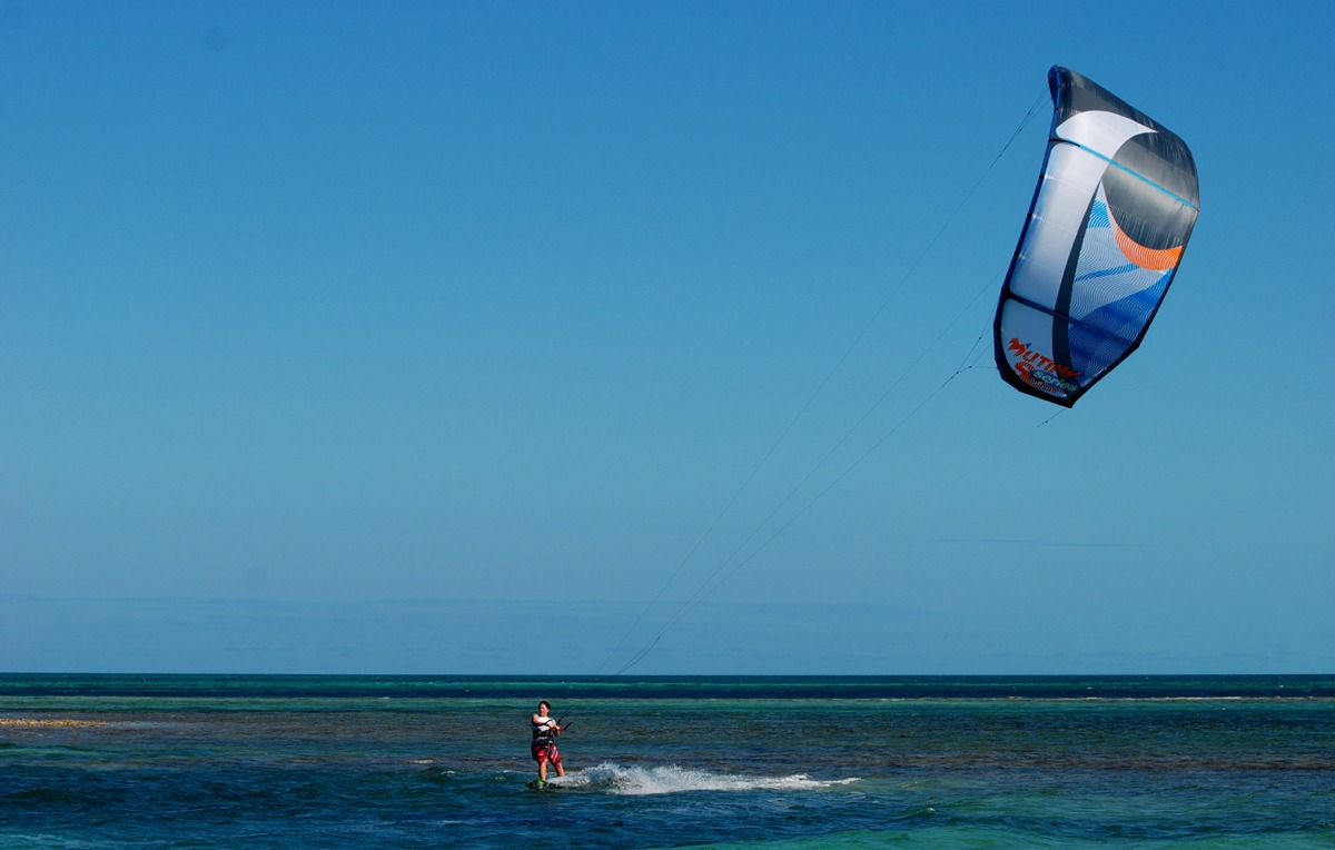 Kite lessons are available December through March