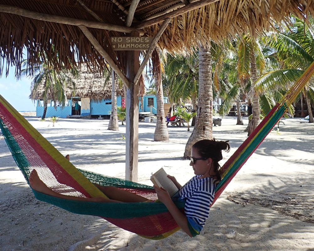 Our hammock palapa is a favorite spot after lunch
