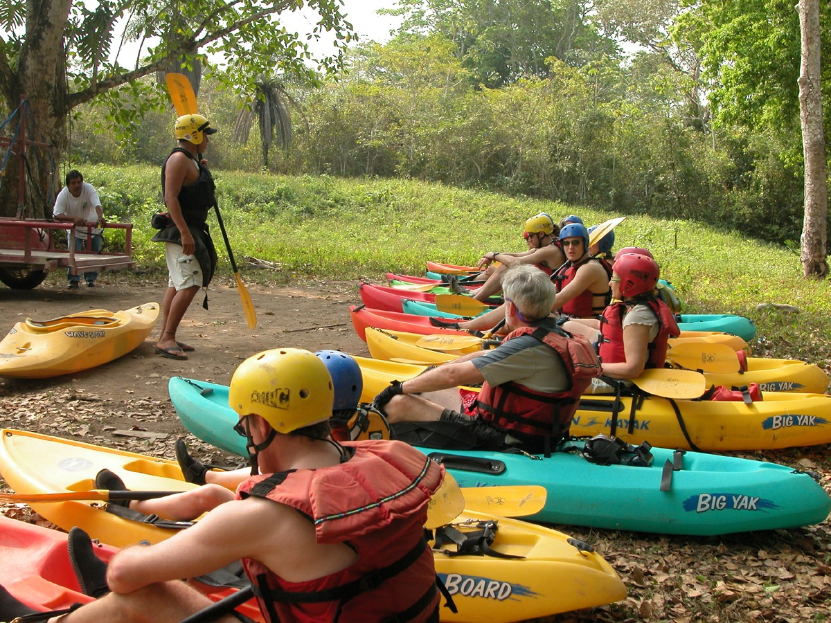 Complete instruction is included before running the beginner-level rapids
