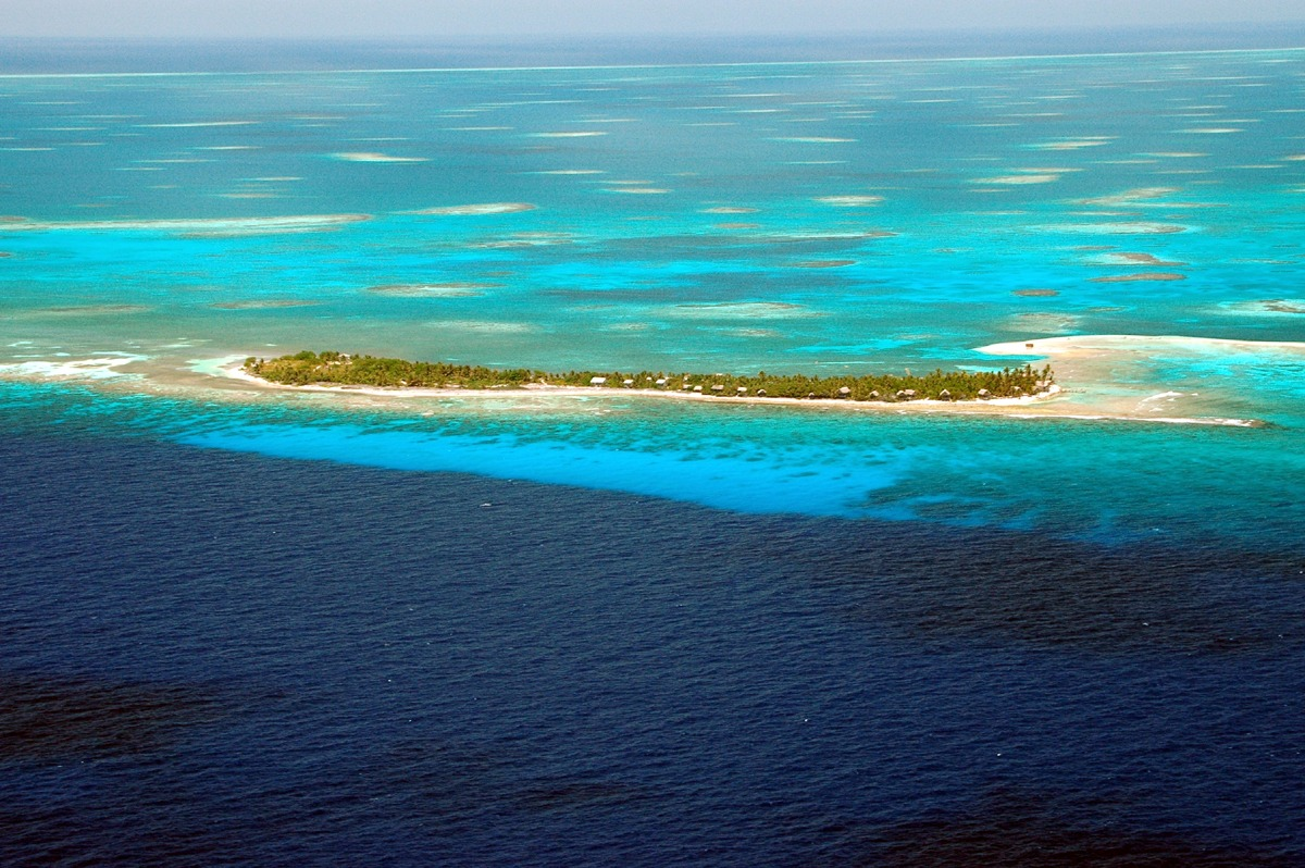 Long Caye at Glovers Reef Belize