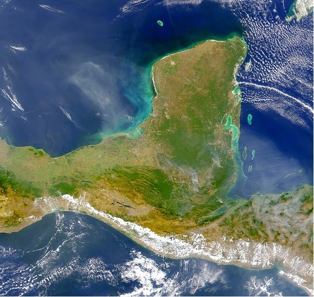 The Yucatan Peninsula of Mexico and Belize