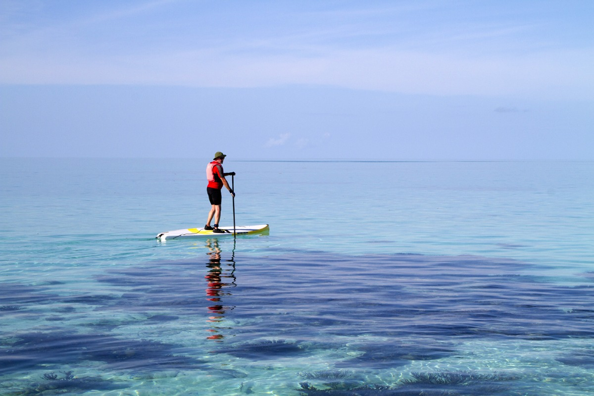 SUP Glover's Reef, Belize