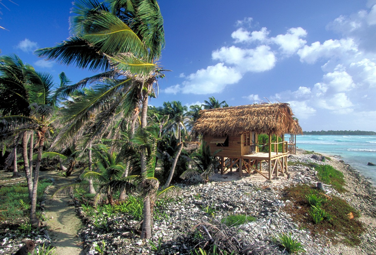 Adventure Island beach hut