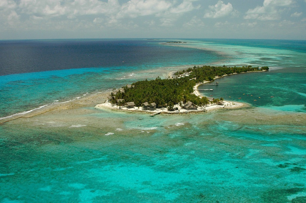 Long Caye at Glover's Reef in Belize