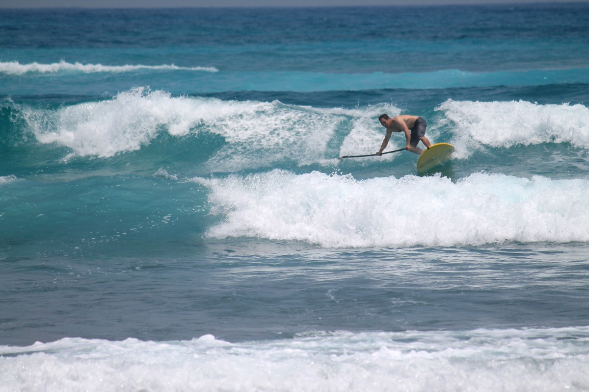 Come surf our wave in Belize!