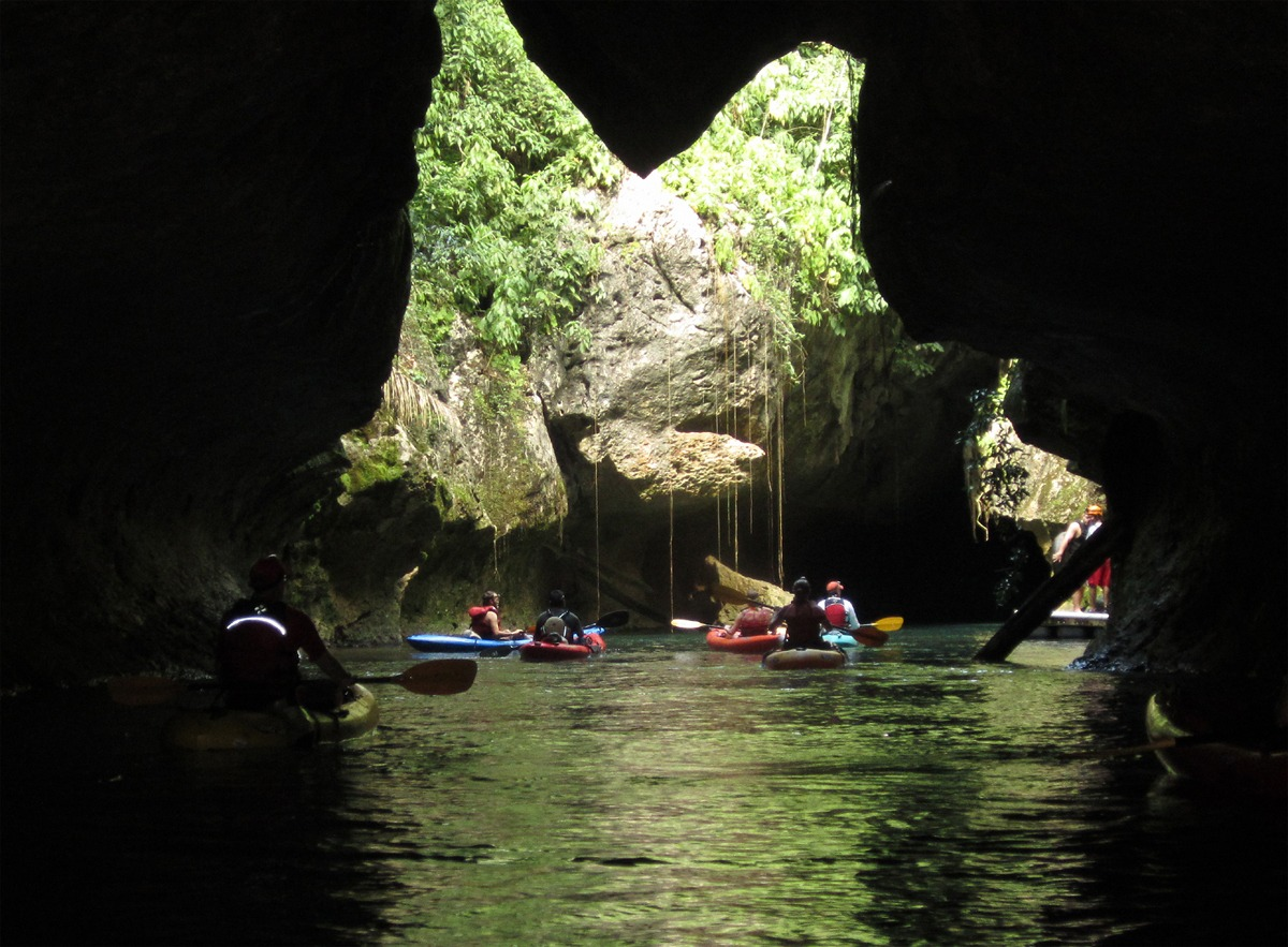 Belize's Caves Branch River