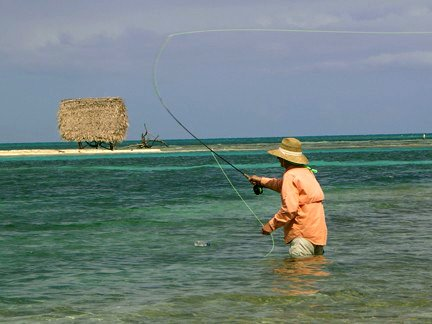 Fishing Long Caye in Belize