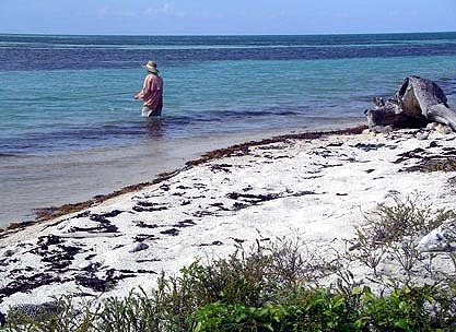The fishing is endless at Long Caye in Belize