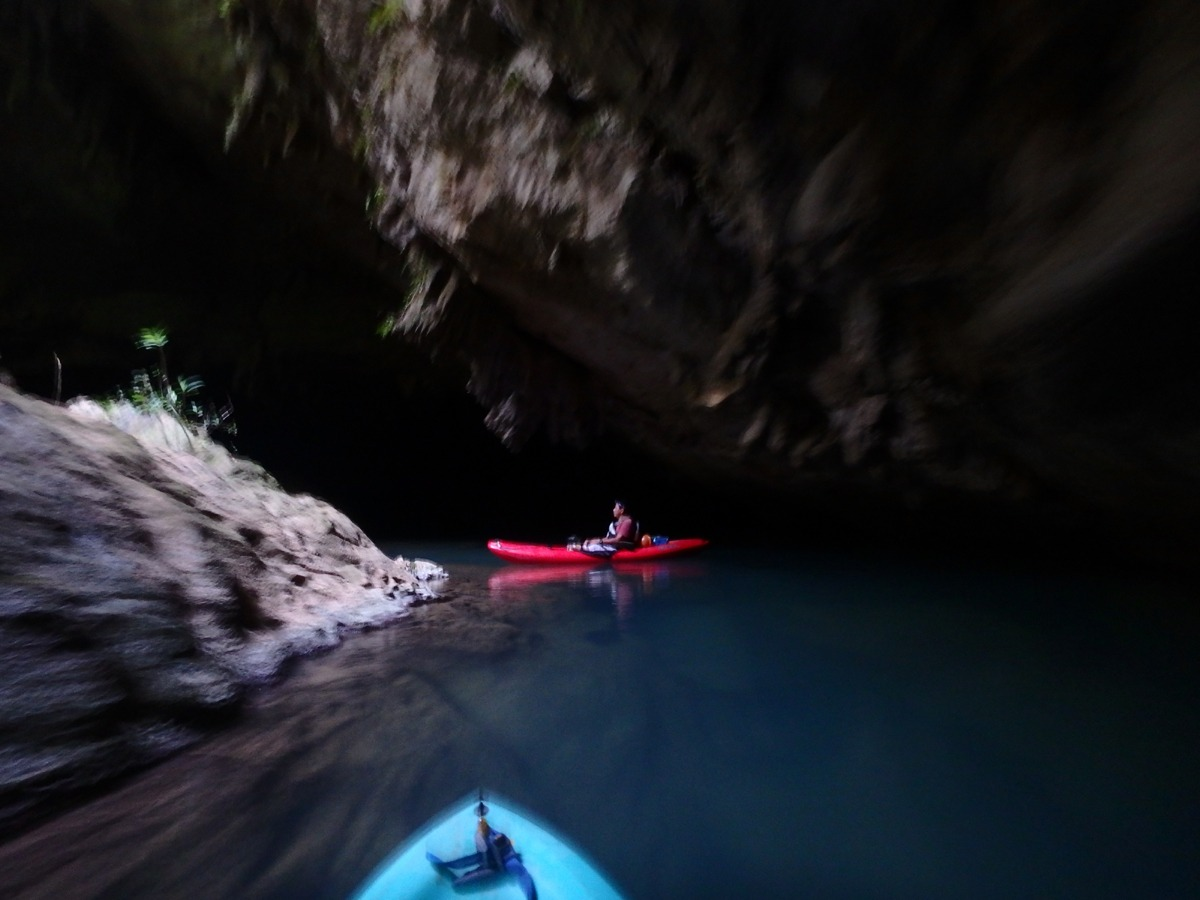 Kayaking the Caves Branch River