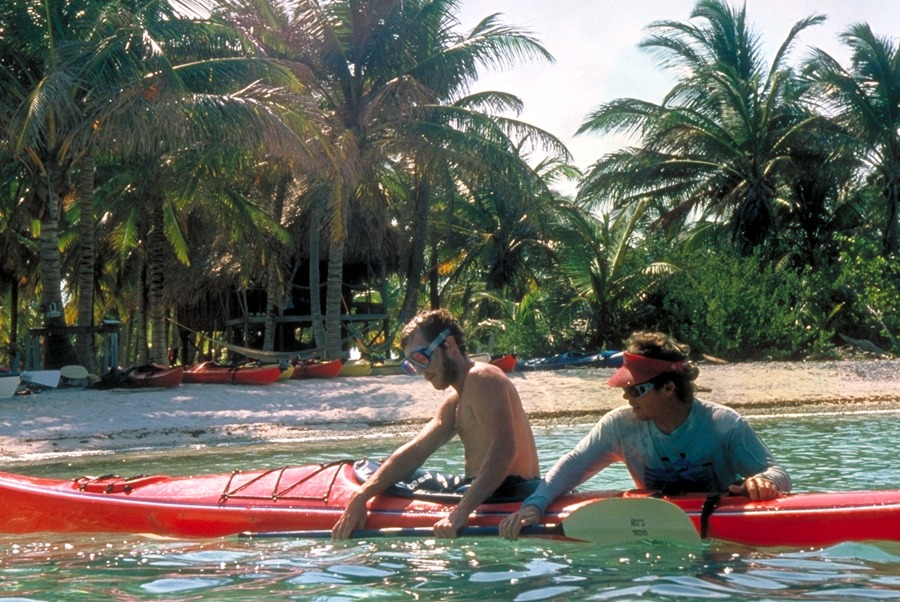Learn the Eskimo roll on vacation in Belize
