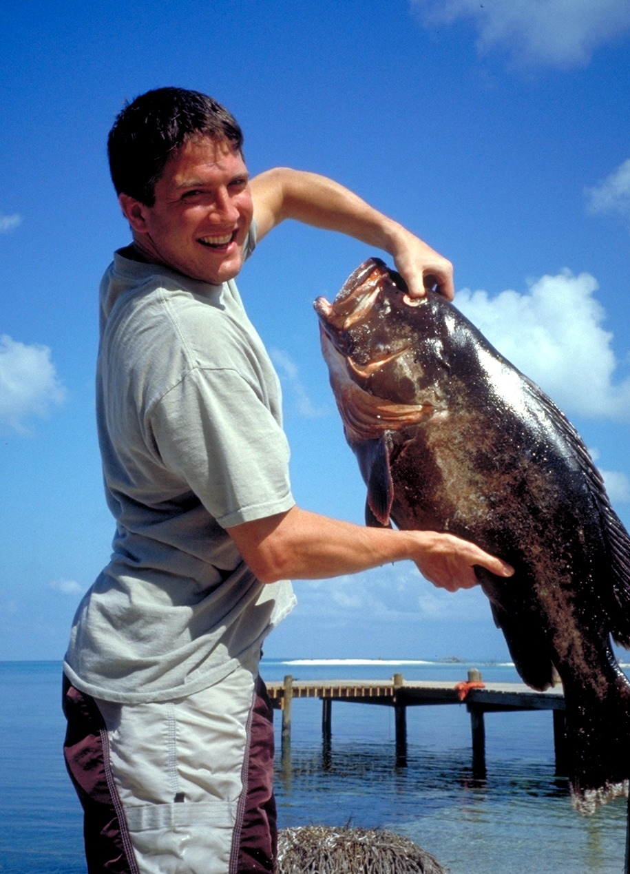 A huge grouper!