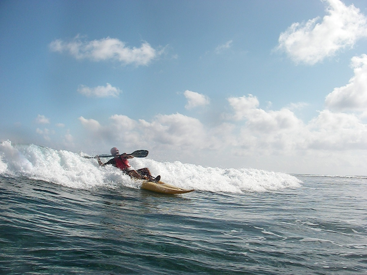 Long Caye at Glover's Reef surf wave