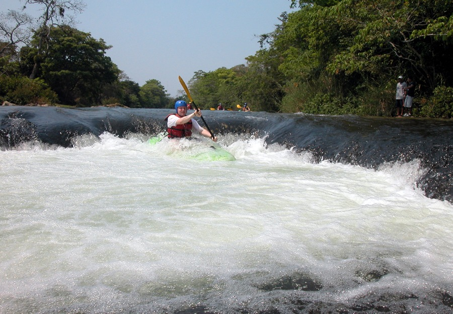 Kayaking the Mopan River in Western Belize