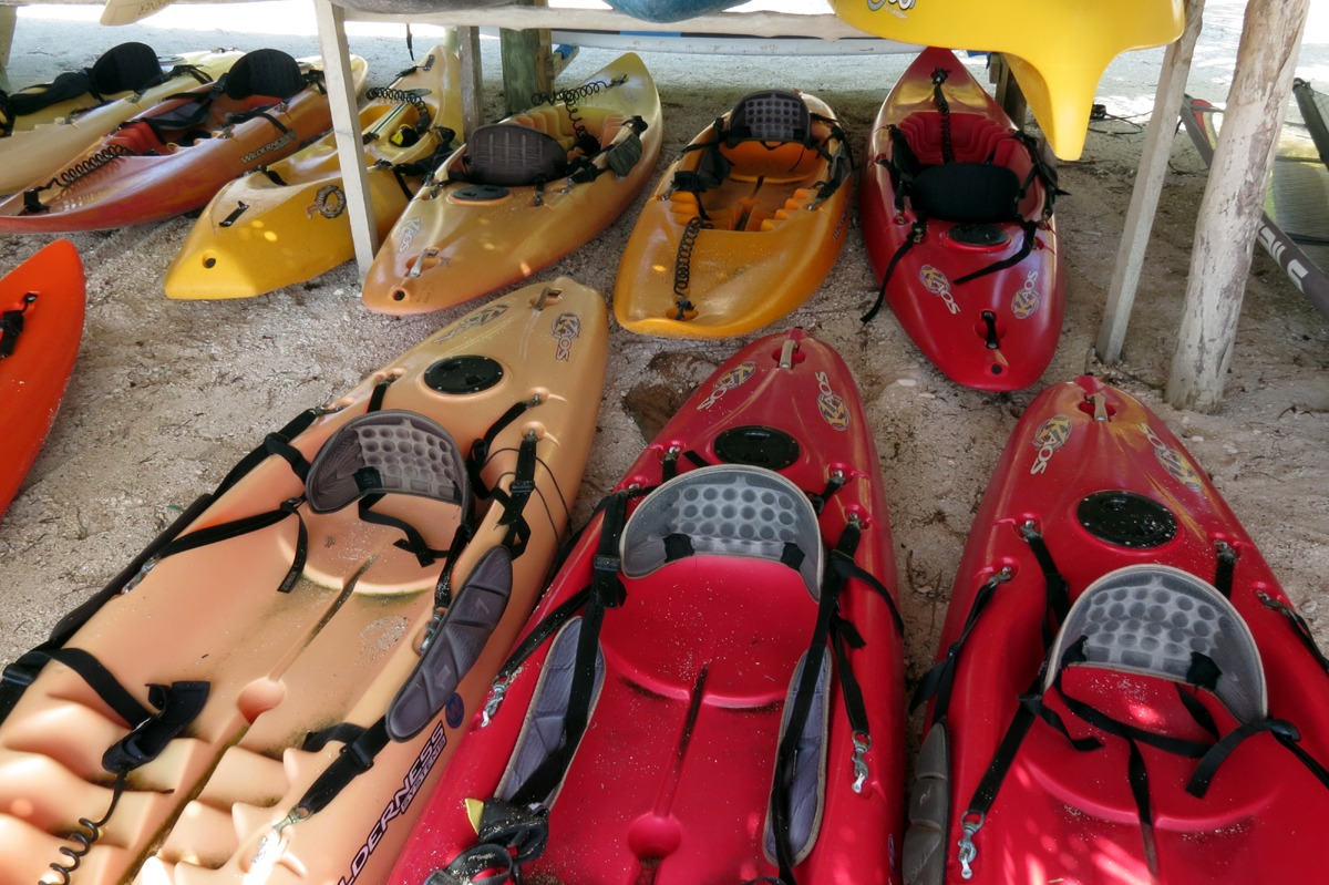 A few of our surf kayaks