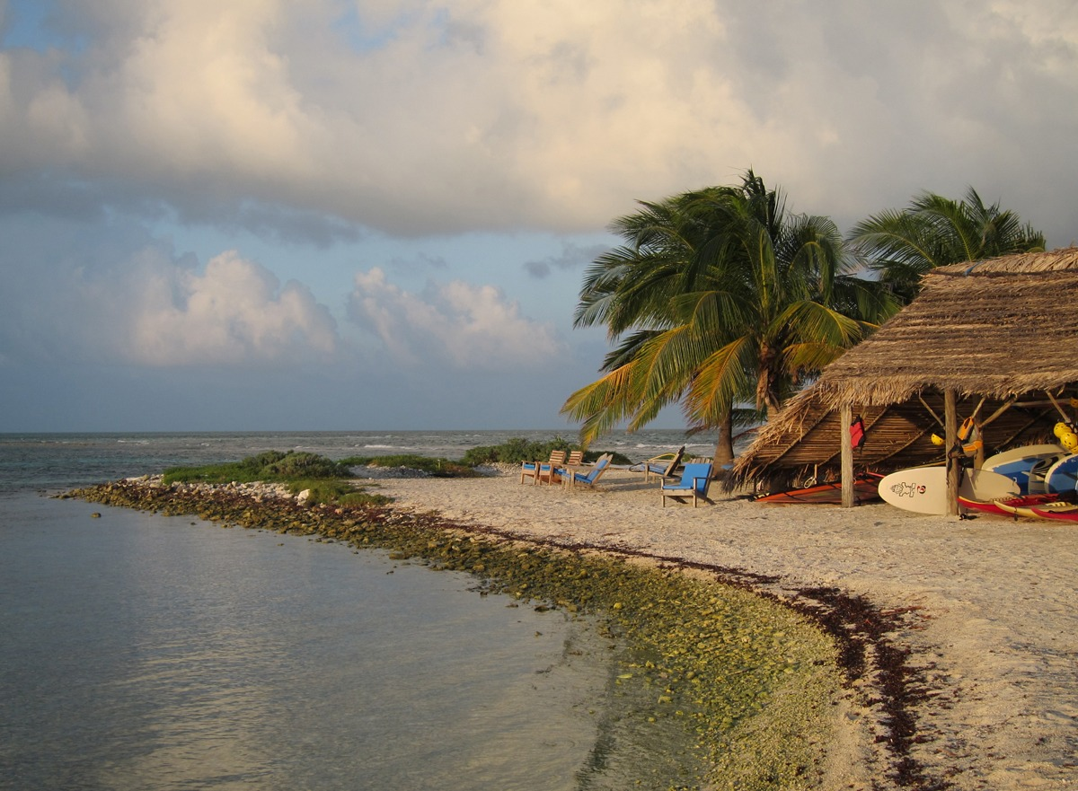 North end of Long Caye, Belize