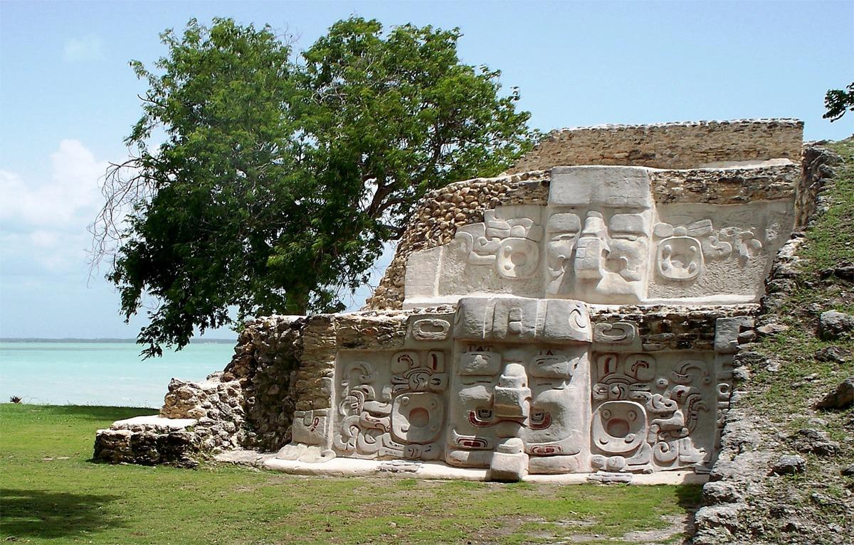 Cerros ruin in Belize