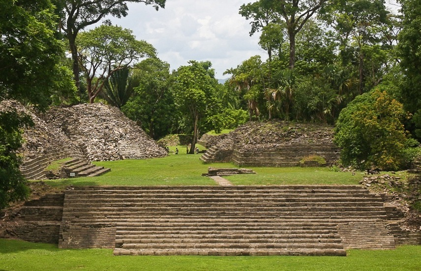 Lubaantun ruin in Belize