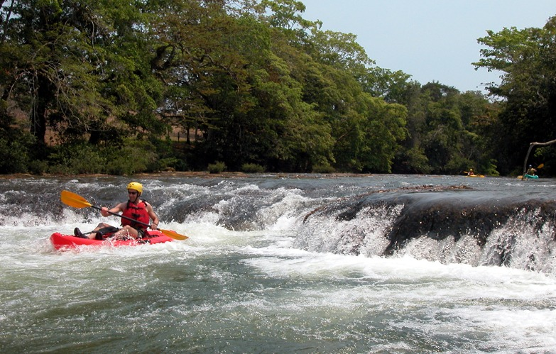 Learn to kayak on Belize's Mopan River