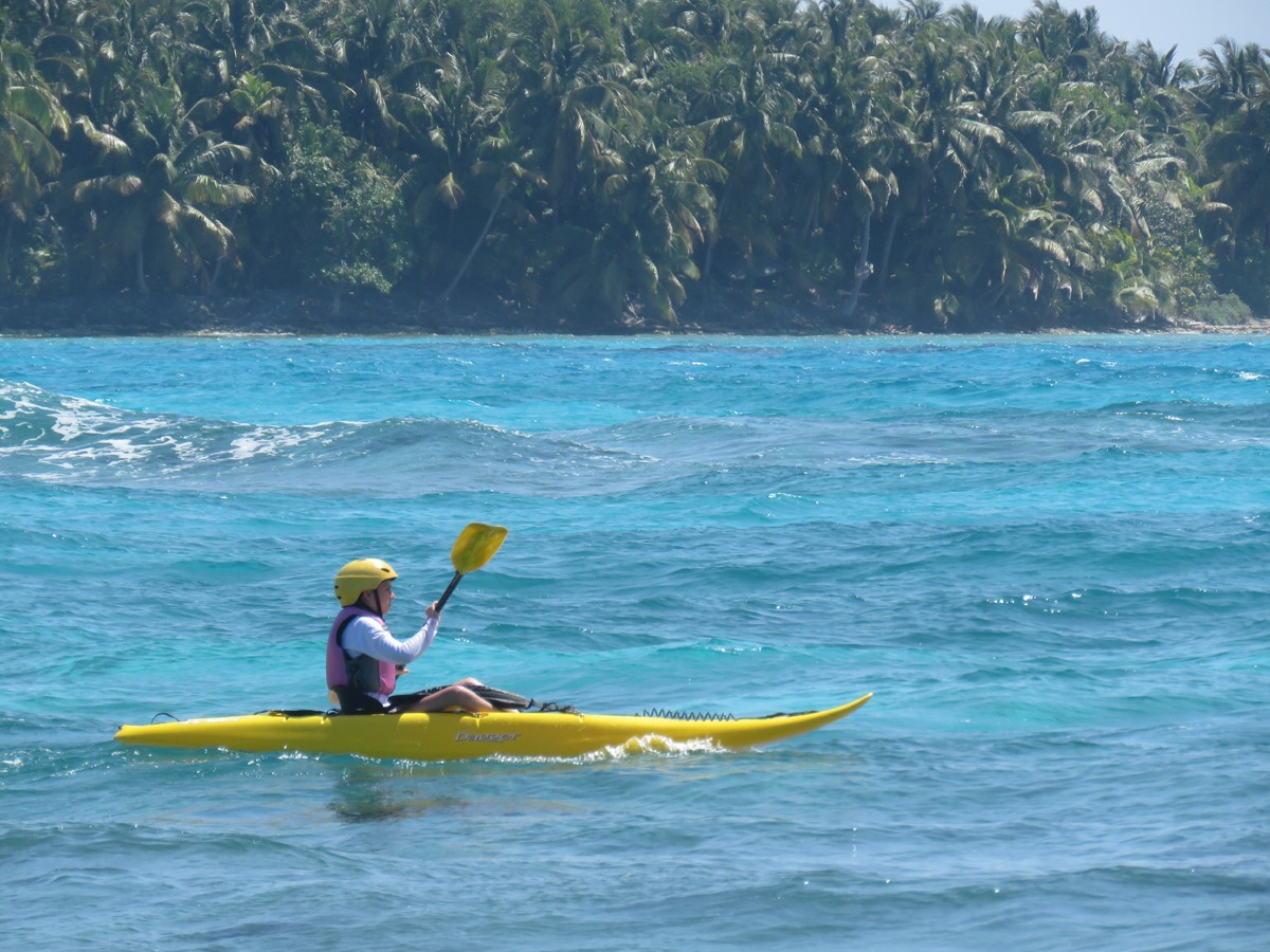 We have surfing kayaks as well as sea kayaks