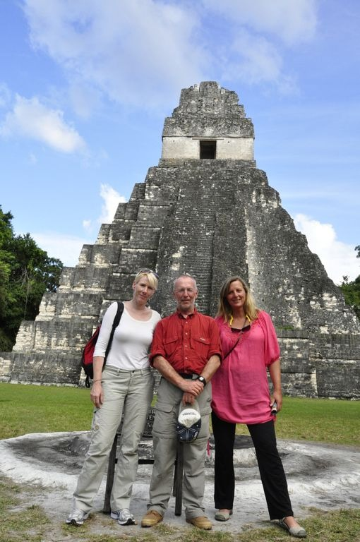 Friends at Tikal