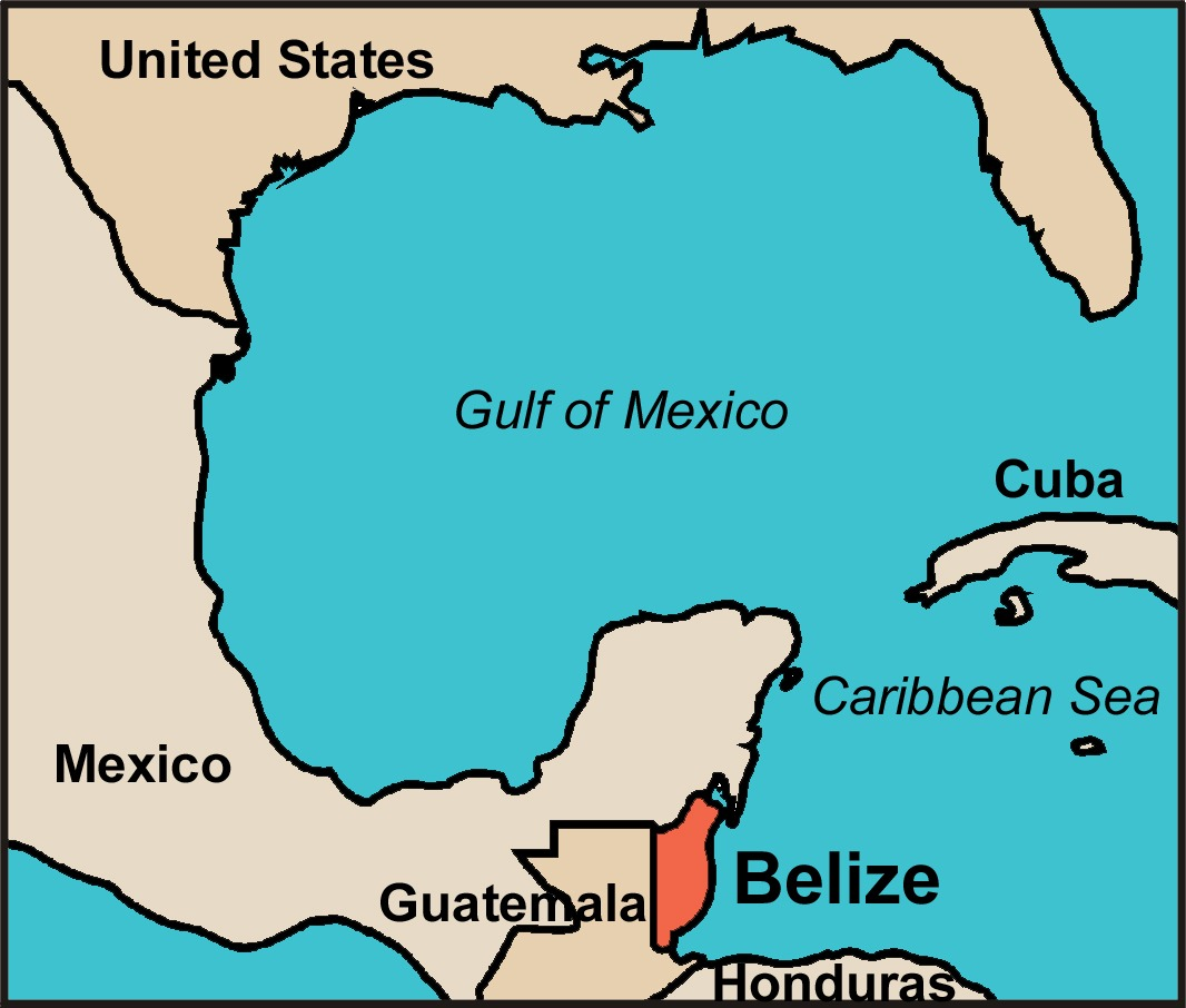 Where is Belize? We\'ll Send You a Free Map of this Caribbean Paradise