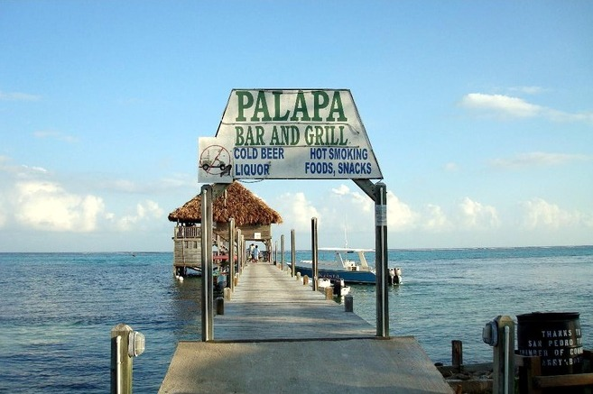 The Palapa Bar and Grill, Ambergris Caye, Belize