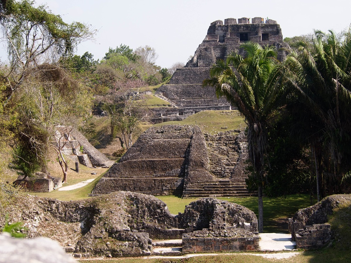 We explore Xunantunich Mayan ruin in Cayo, Belize
