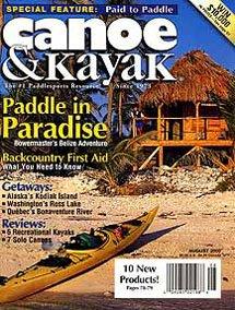 Canoe and Kayak Magazine Belize adventure article