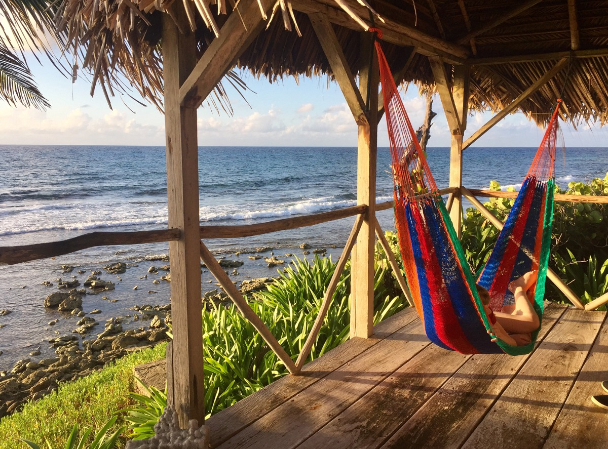 There is a hammock on Long Caye with your name on it!