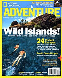 National Geographic Adventure Belize article