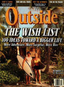 Our Belize island was featured on the cover of Outside magazine!