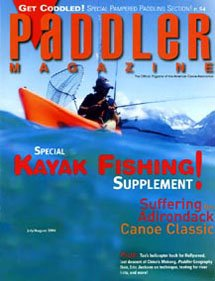 Paddler magazine Belize adventure article