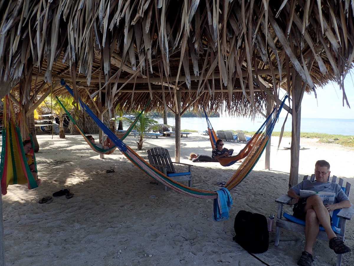 Relaxing in Belize