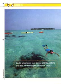 US Airways Belize travel article