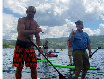 Laird Hamilton and Cully Erdman