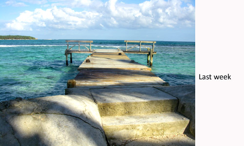 Glover's Reef dock repaired after Hurricane Matthew