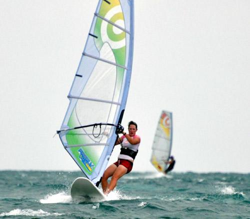 Belize windsurfing