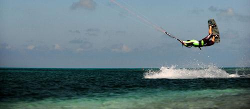 Kitesurf holidays in Belize