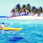 Queen Cayes kayaking, Belize