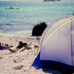 Belize camping on the Belize Barrier Reef