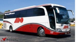ADO bus of Mexico