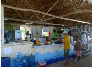 Long Caye Kitchen, Glovers Reef, Belize