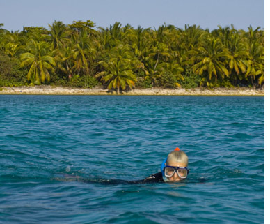 Belize swimming
